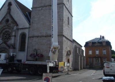 Couverture à Croix près d'Héricourt